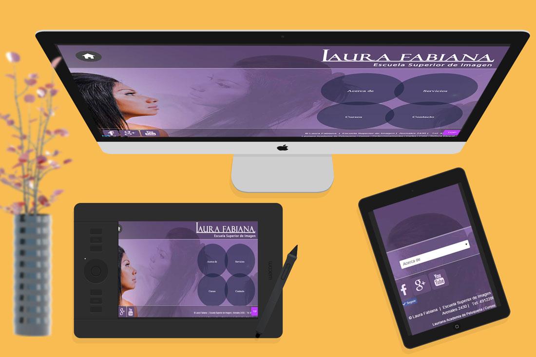 laurafabianacademia trabajos diseño web Mardelwebs
